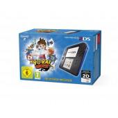 Nintendo 2DS Noir / Bleu + Yo-Kai Watch Préinstallé