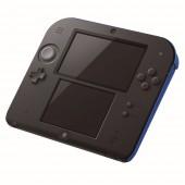 Nintendo 2DS noir / bleu + New Super Mario Bros 2