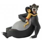 Statuette - Mowgli - Disney Collection Mowgli et Baloo