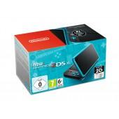 Nintendo New 2DS XL Noir + Turquoise
