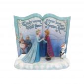 Statuette - La Reine des Neiges - Disney Traditions Livre