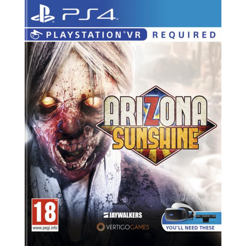 Arizona Sunshine Ps Vr