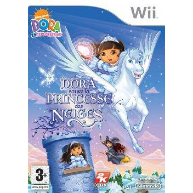 Dora sauvez la princesse des neiges sur wii tous les jeux vid o wii sont chez micromania - Dora princesse des neiges ...