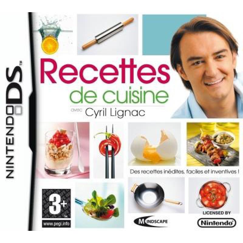 Recettes De Cuisine Avec Cyril Lignac Sur DS Tous Les Jeux Vidéo - Cours de cuisine cyril lignac