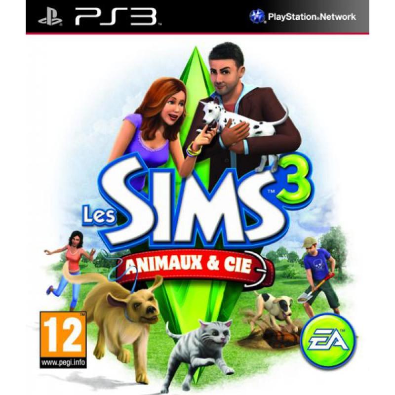 Les Sims 3 : Animaux Et Cie Edition Standard sur PS3, tous