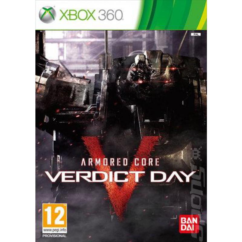 image du jeu Armored Core : Verdict Day sur XBOX 360