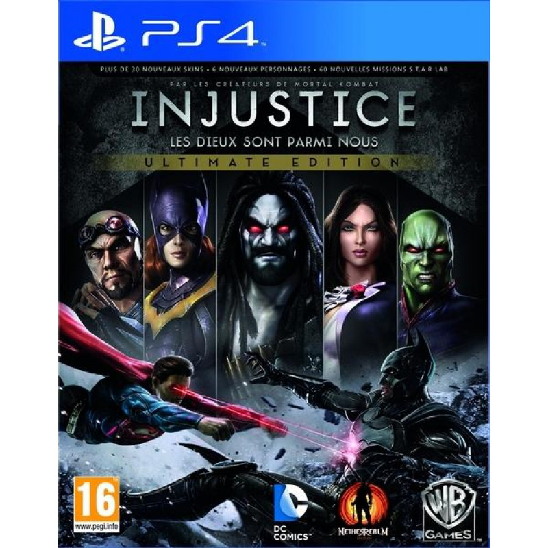 image du jeu Injustice : Les Dieux Sont Parmi Nous Ultimate Edition sur PS4