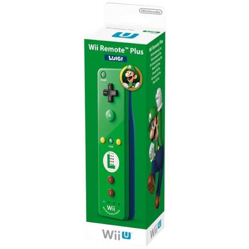image du jeu Telecommande Wii U Plus Luigi Verte sur WII U