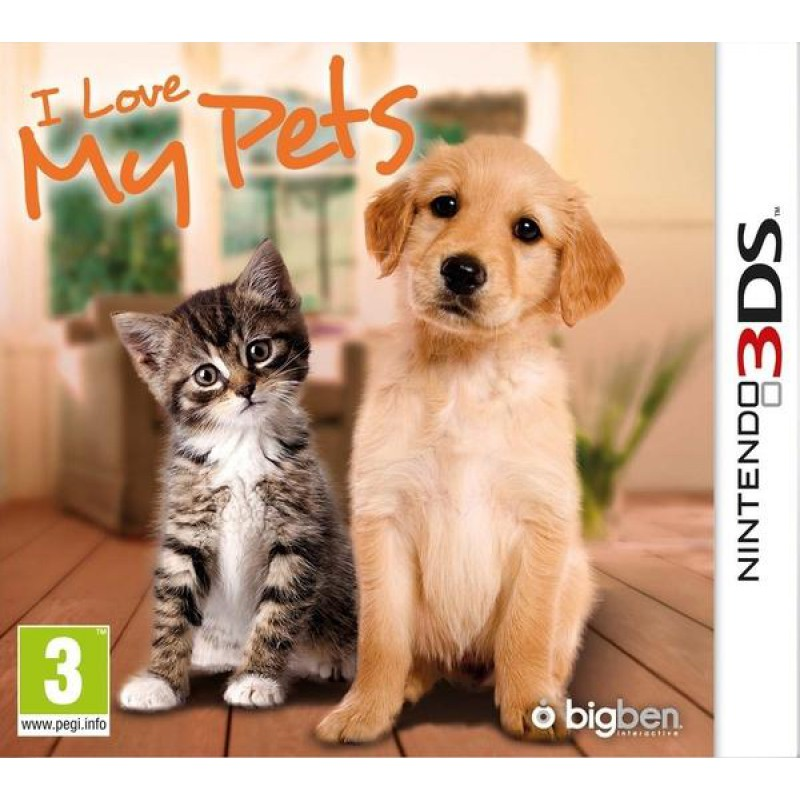 image du jeu I Love My Pets sur 3DS