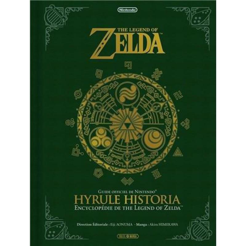 image du jeu Livre The Legend Of Zelda - Hyrule Historia sur GUIDE