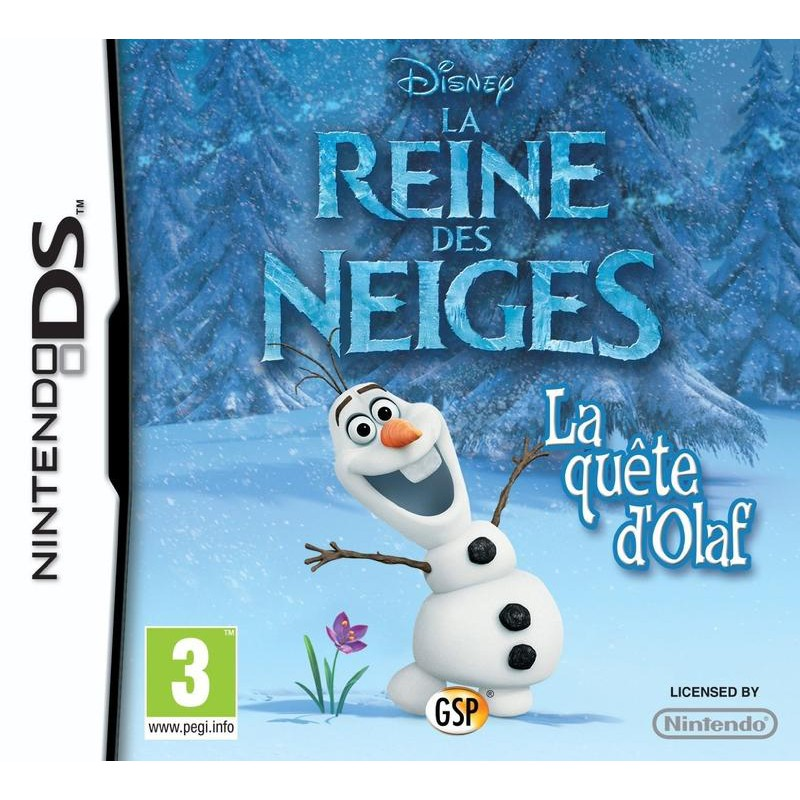 image du jeu Disney - Reine Des Neiges : La Quête D'olaf sur DS
