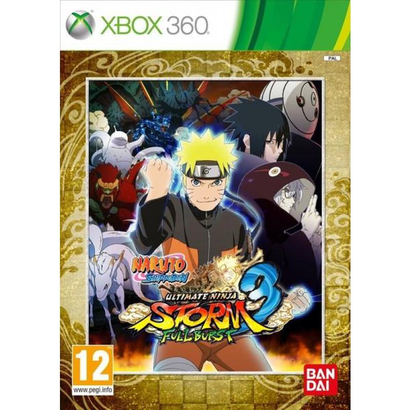 image du jeu Naruto Shippuden Ultimate Ninja Storm 3 Full Burst sur XBOX 360