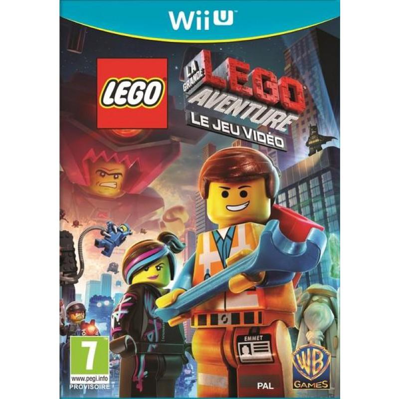 image du jeu La Grande Aventure Lego : Le Jeu Vidéo sur WII U