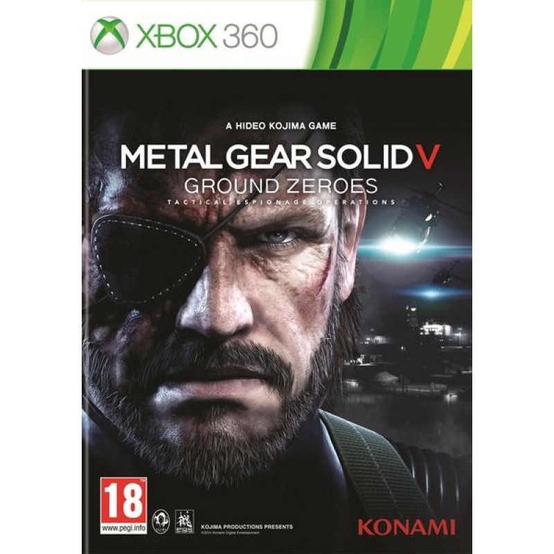 image du jeu Metal Gear Solid V : Ground Zeroes sur XBOX 360