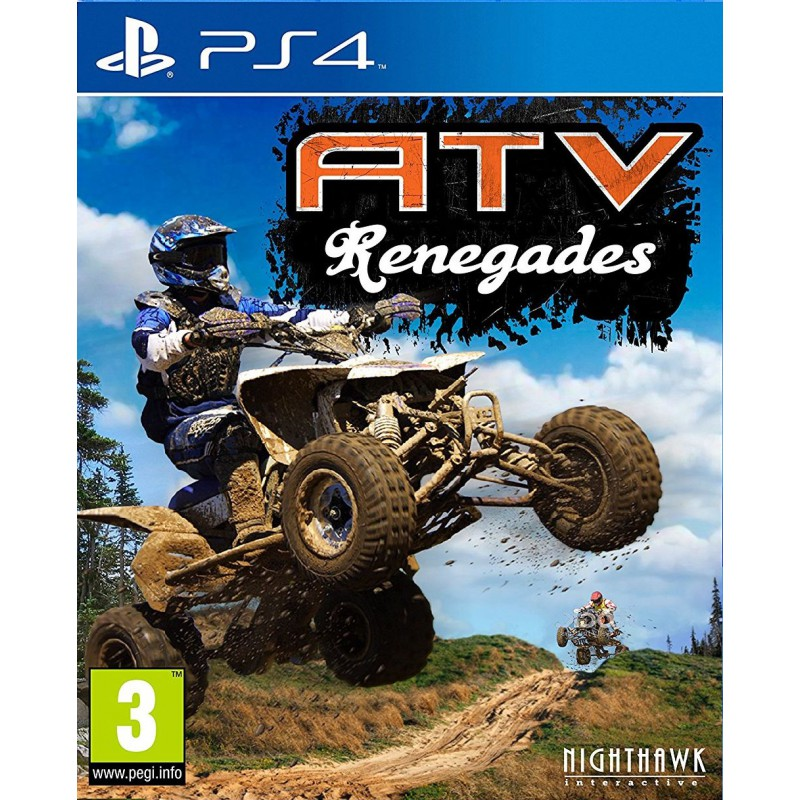 atv renegades sur ps4 tous les jeux vid o ps4 sont chez micromania. Black Bedroom Furniture Sets. Home Design Ideas