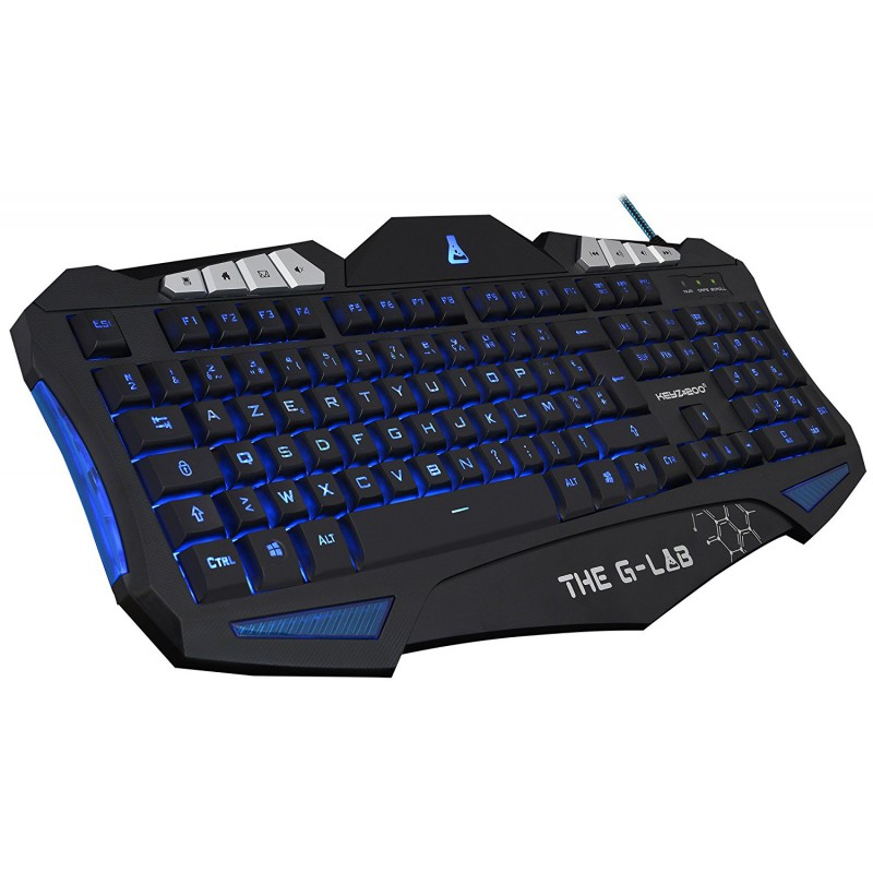 clavier gaming the g lab keyz 200 n lumineux pc. Black Bedroom Furniture Sets. Home Design Ideas