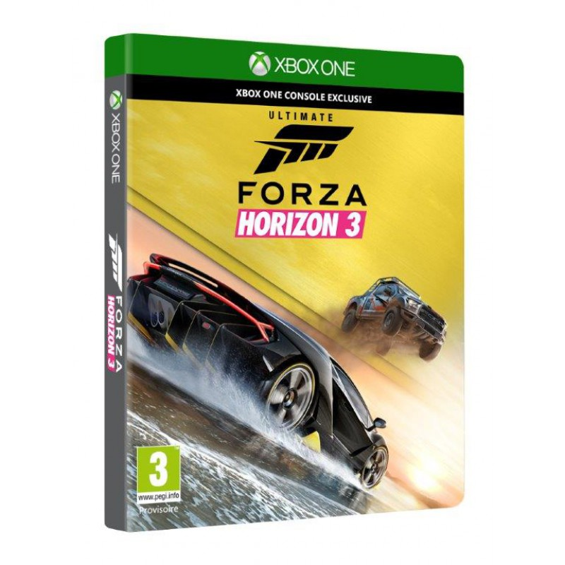 forza horizon 3 ultimate edition exclusivit micromania sur xbox one tous les jeux vid o xbox. Black Bedroom Furniture Sets. Home Design Ideas
