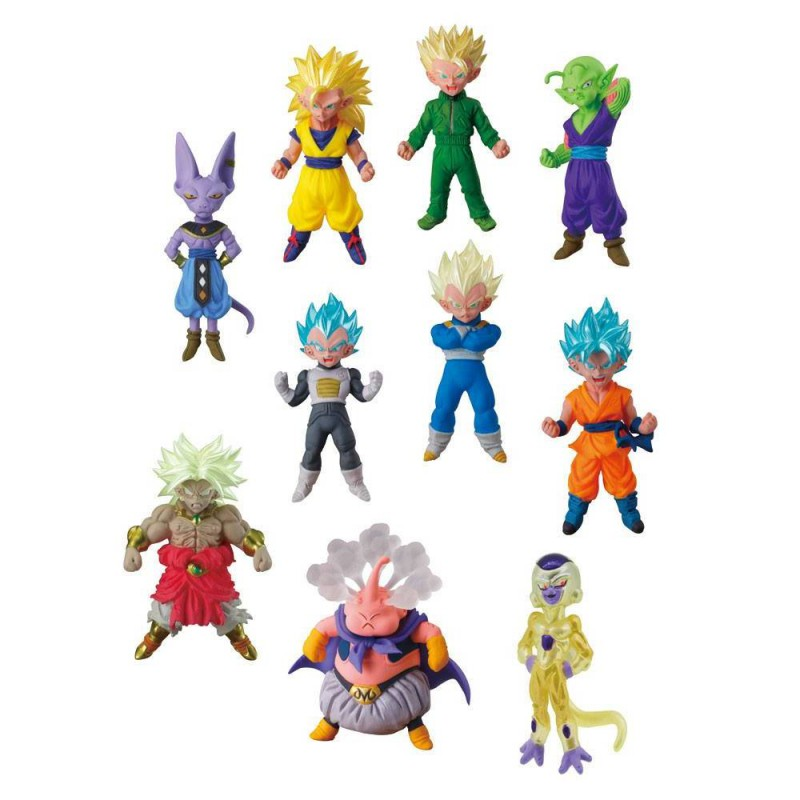 figurine mystere dragon ball mini super collectible divers. Black Bedroom Furniture Sets. Home Design Ideas