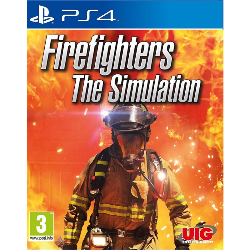firefighters the simulation sur ps4 tous les jeux vid o. Black Bedroom Furniture Sets. Home Design Ideas