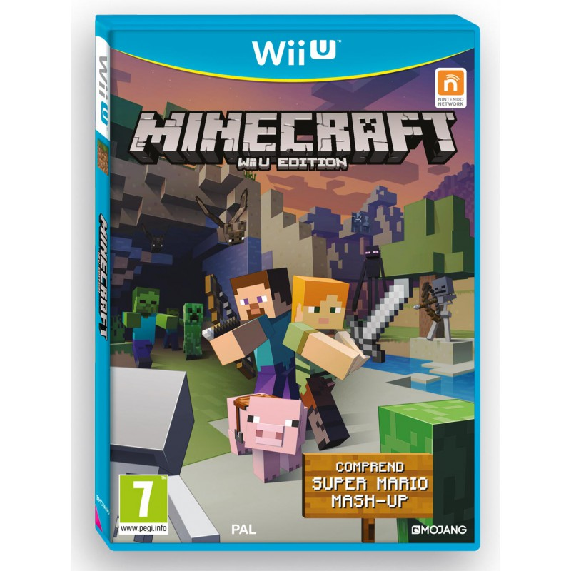 minecraft wii u edition sur wii u tous les jeux vid o wii u sont chez micromania. Black Bedroom Furniture Sets. Home Design Ideas