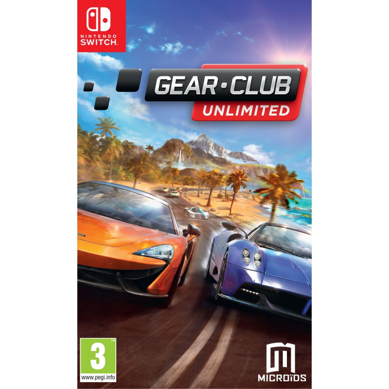 gear club unlimited sur switch tous les jeux vid o switch sont chez micromania. Black Bedroom Furniture Sets. Home Design Ideas