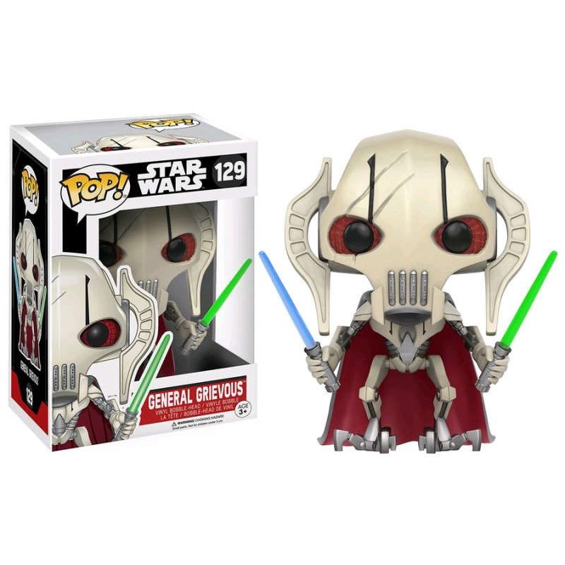 figurine toy pop 129 star wars clone wars general grievous divers. Black Bedroom Furniture Sets. Home Design Ideas