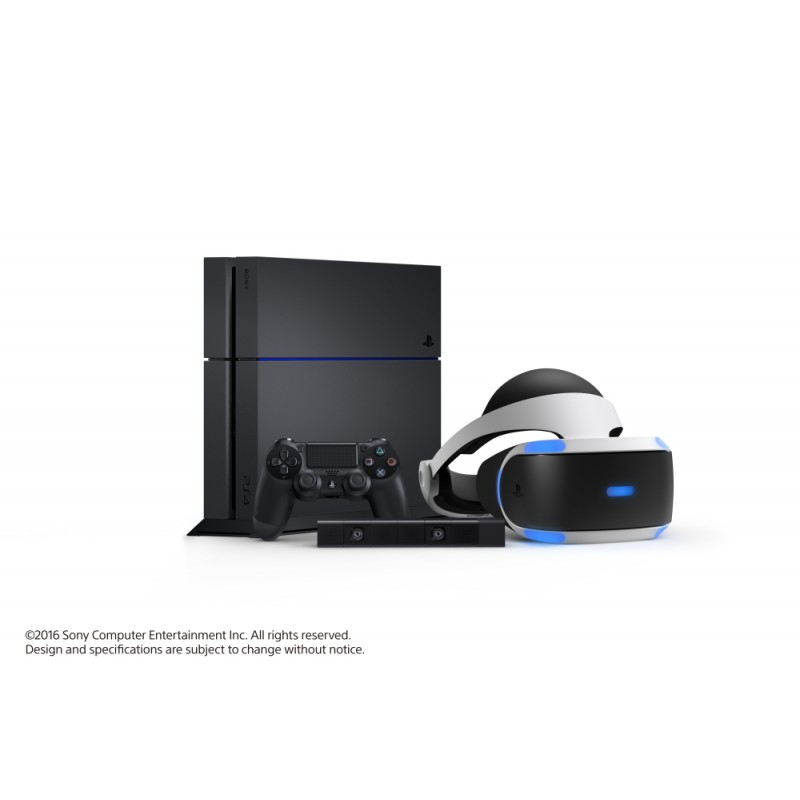 casque playstation vr vr ps4. Black Bedroom Furniture Sets. Home Design Ideas