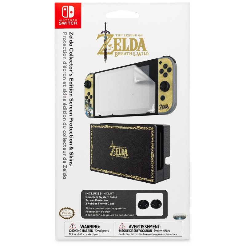 kit playskins zelda 2 caps exclu switch. Black Bedroom Furniture Sets. Home Design Ideas