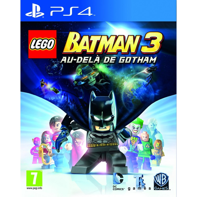 lego batman 3 au del de gotham sur ps4 tous les jeux vid o ps4 sont chez micromania. Black Bedroom Furniture Sets. Home Design Ideas
