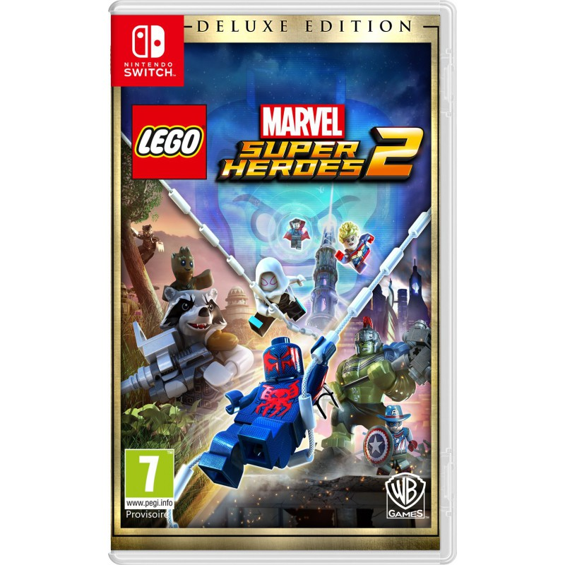 lego marvel super heroes 2 deluxe edition sur switch tous. Black Bedroom Furniture Sets. Home Design Ideas