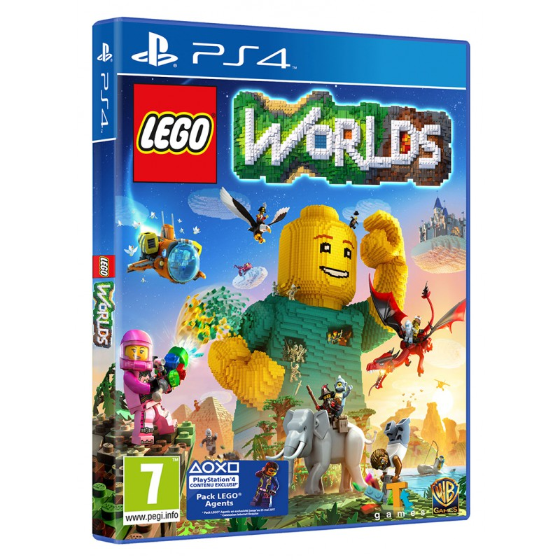 lego worlds sur ps4 tous les jeux vid o ps4 sont chez micromania. Black Bedroom Furniture Sets. Home Design Ideas