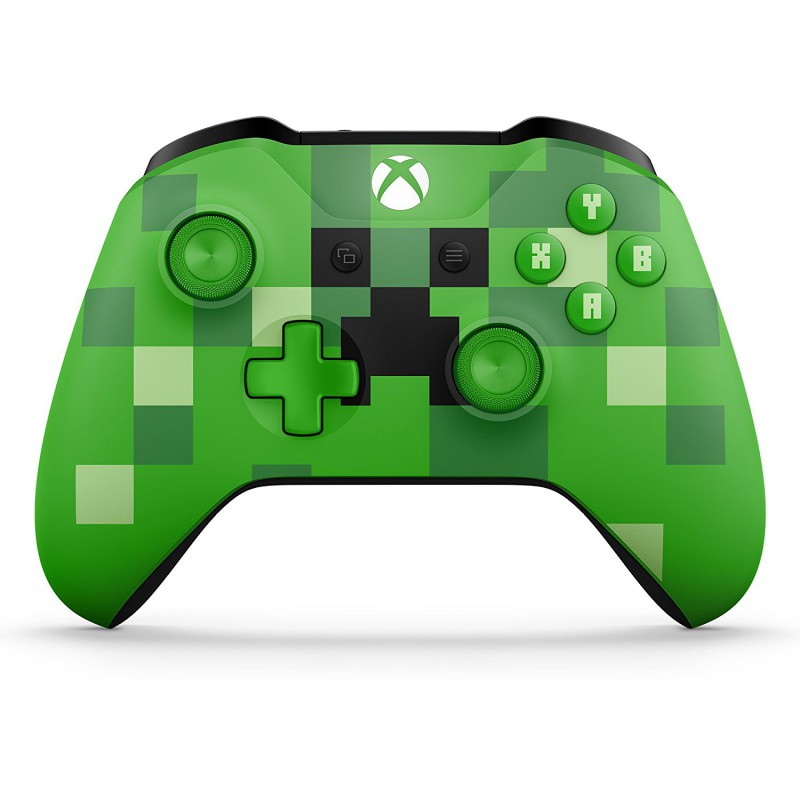 manette sans fil edition limit e minecraft creeper xboxone. Black Bedroom Furniture Sets. Home Design Ideas