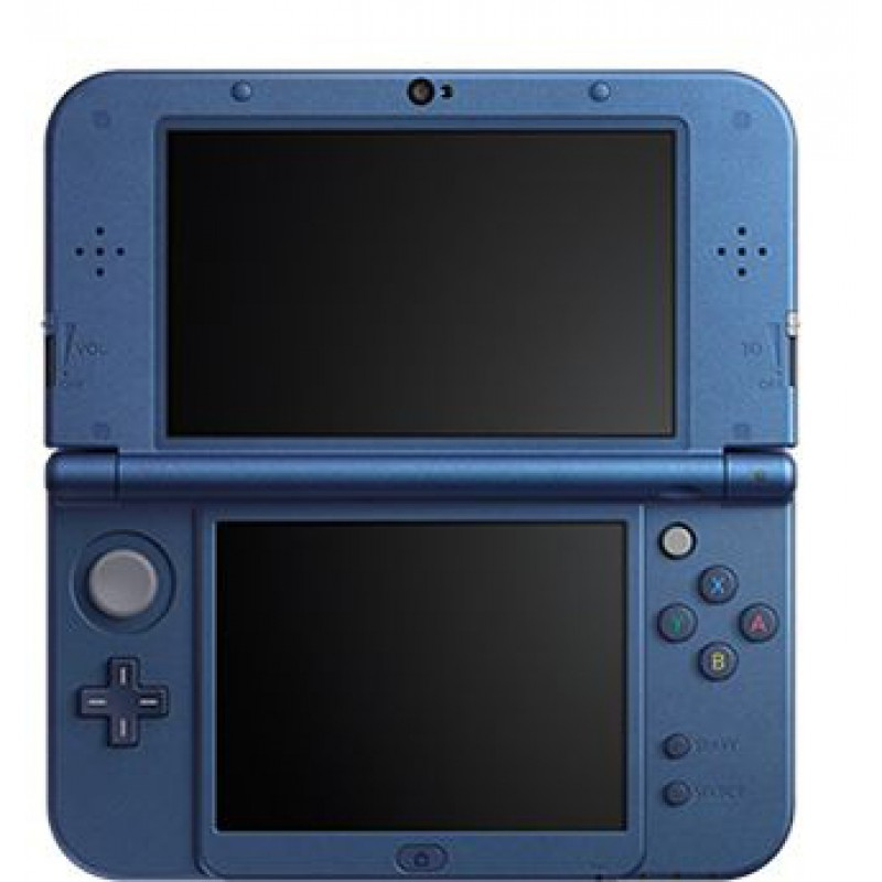 nintendo new 3ds xl bleu m tallique occasion 3ds. Black Bedroom Furniture Sets. Home Design Ideas