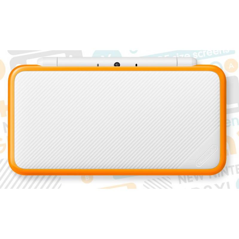 Nintendo New 2ds Xl Blanc Orange 3ds