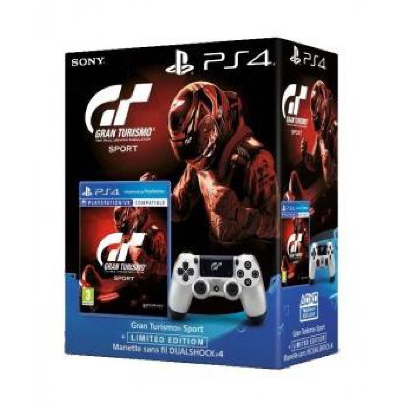 gran turismo sport dual shock 4 argent gt sport that 39 s you voucher sur ps4 tous les jeux. Black Bedroom Furniture Sets. Home Design Ideas
