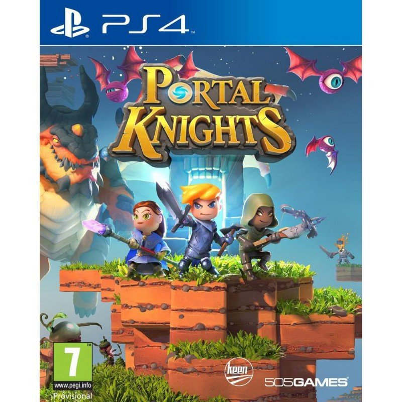 portal knights sur ps4 tous les jeux vid o ps4 sont chez micromania. Black Bedroom Furniture Sets. Home Design Ideas