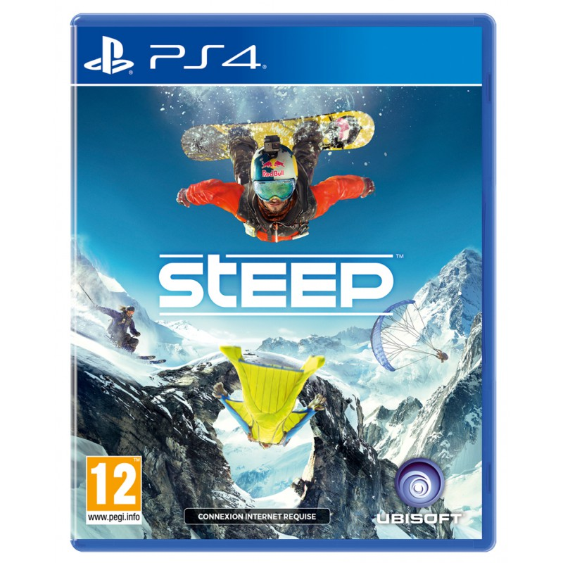 steep sur ps4 tous les jeux vid o ps4 sont chez micromania. Black Bedroom Furniture Sets. Home Design Ideas