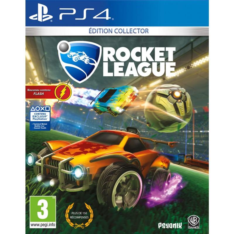 rocket league collector edition sur ps4 tous les jeux vid o ps4 sont chez micromania. Black Bedroom Furniture Sets. Home Design Ideas