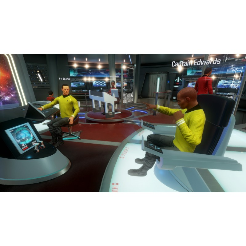 star trek bridge crew vr sur ps4 tous les jeux vid o ps4 sont chez micromania. Black Bedroom Furniture Sets. Home Design Ideas