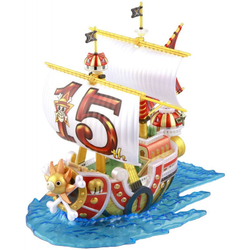 maquette one piece thousand sunny divers. Black Bedroom Furniture Sets. Home Design Ideas