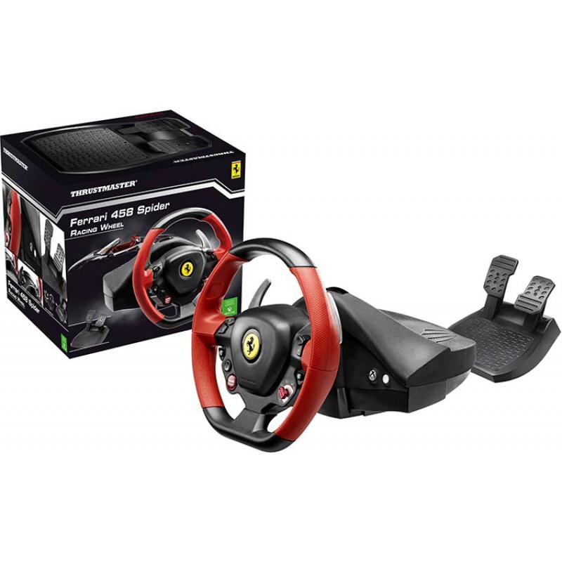 volant ferrari 458 spider xbox one xboxone. Black Bedroom Furniture Sets. Home Design Ideas