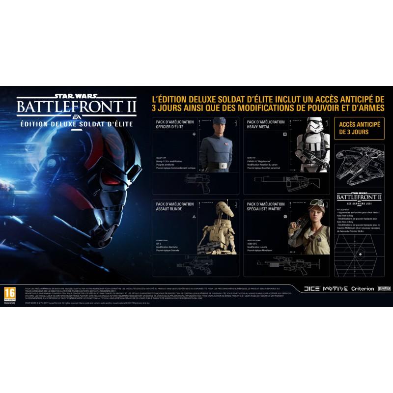 star wars battlefront ii elite trooper edition deluxe. Black Bedroom Furniture Sets. Home Design Ideas