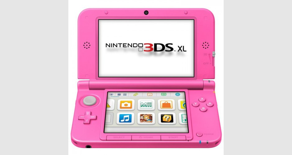 Nintendo 3ds xl rose occasion pack 3ds - Console occasion micromania ...