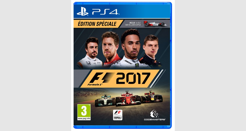 f1 2017 edition sp ciale sur ps4 tous les jeux vid o ps4 sont chez micromania. Black Bedroom Furniture Sets. Home Design Ideas