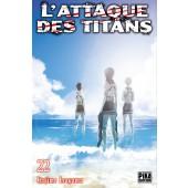 Manga - L'Attaque des Titans - Tome 22