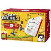 Nintendo 2DS Blanc + Rouge + New Super Mario Bros. 2