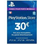 PSN Card 30 euros - PS4 - PS3 - PS Vita