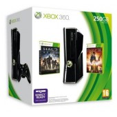 Pack Xbox 360 250 Go + Fable III + Halo Reach