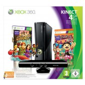 Pack Xbox 360 4 Go + Carnival + Kinect + Xbox Live Gold 3 Mois