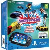 Pack Ps Vita 3g Sports & Racing Megapack + Voucher + Carte Mémoire 8 Go